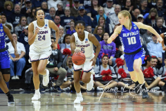 NCAA Women's Basketball Championship Second Round - #2 UConn 84 vs. #10 Buffalo 72 (35)