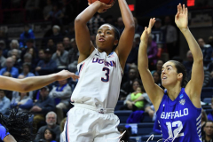 NCAA Women's Basketball Championship Second Round - #2 UConn 84 vs. #10 Buffalo 72 (41)