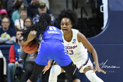 NCAA Women's Basketball Championship Second Round - #2 UConn 84 vs. #10 Buffalo 72 (42)