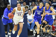 NCAA Women's Basketball Championship Second Round - #2 UConn 84 vs. #10 Buffalo 72 (44)