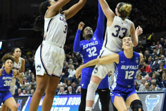 NCAA Women's Basketball Championship Second Round - #2 UConn 84 vs. #10 Buffalo 72 (58)