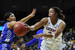 NCAA Women's Basketball Championship Second Round - #2 UConn 84 vs. #10 Buffalo 72 (67)