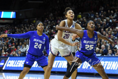 NCAA Women's Basketball Championship Second Round - #2 UConn 84 vs. #10 Buffalo 72 (75)