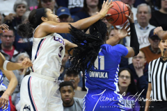 NCAA Women's Basketball Championship Second Round - #2 UConn 84 vs. #10 Buffalo 72 (77)