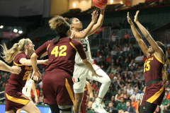 NCAA Women's Basketball Championship Second Round; #4 Miami 55 vs. #5 Arizona State 57; from Watsco Center, Coral Gables, FL; March 24, 2019; pictures by Glenn Sattell / SportsPageMagazine.com