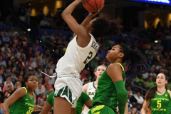 NCAA Women's Basketball FInal Four National Semi-Finals - Baylor 72 vs Oregon 67 (100)