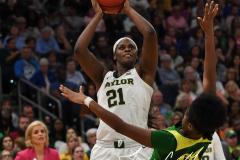 NCAA Women's Basketball FInal Four National Semi-Finals - Baylor 72 vs Oregon 67 (105)