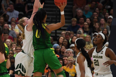 NCAA Women's Basketball FInal Four National Semi-Finals - Baylor 72 vs Oregon 67 (107)