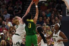 NCAA Women's Basketball FInal Four National Semi-Finals - Baylor 72 vs Oregon 67 (108)