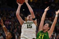 NCAA Women's Basketball FInal Four National Semi-Finals - Baylor 72 vs Oregon 67 (110)