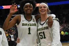 NCAA Women's Basketball FInal Four National Semi-Finals - Baylor 72 vs Oregon 67 (120)