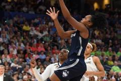 NCAA Women's Basketball FInal Four National Semi-Finals - Notre Dame 81 vs UConn 76 (101)