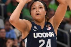 NCAA Women's Basketball FInal Four National Semi-Finals - Notre Dame 81 vs UConn 76 (103)
