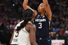 NCAA Women's Basketball FInal Four National Semi-Finals - Notre Dame 81 vs UConn 76 (107)