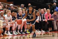 NCAA Women's Basketball FInal Four National Semi-Finals - Notre Dame 81 vs UConn 76 (110)