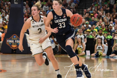 NCAA Women's Basketball FInal Four National Semi-Finals - Notre Dame 81 vs UConn 76 (114)