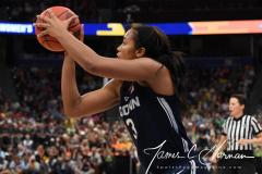NCAA Women's Basketball FInal Four National Semi-Finals - Notre Dame 81 vs UConn 76 (115)