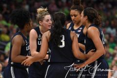 NCAA Women's Basketball FInal Four National Semi-Finals - Notre Dame 81 vs UConn 76 (116)
