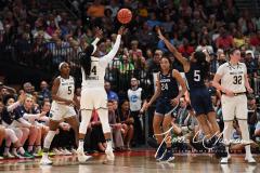 NCAA Women's Basketball FInal Four National Semi-Finals - Notre Dame 81 vs UConn 76 (117)