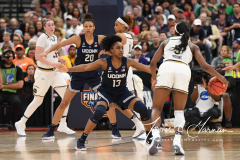 NCAA Women's Basketball FInal Four National Semi-Finals - Notre Dame 81 vs UConn 76 (121)