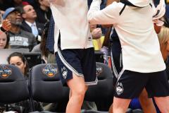 NCAA Women's Basketball FInal Four National Semi-Finals - Notre Dame 81 vs UConn 76 (123)