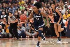 NCAA Women's Basketball FInal Four National Semi-Finals - Notre Dame 81 vs UConn 76 (126)