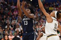 NCAA Women's Basketball FInal Four National Semi-Finals - Notre Dame 81 vs UConn 76 (127)