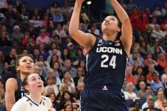 NCAA Women's Basketball FInal Four National Semi-Finals - Notre Dame 81 vs UConn 76 (131)
