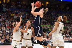 NCAA Women's Basketball FInal Four National Semi-Finals - Notre Dame 81 vs UConn 76 (132)