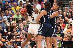 NCAA Women's Basketball FInal Four National Semi-Finals - Notre Dame 81 vs UConn 76 (133)