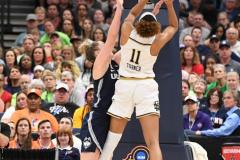 NCAA Women's Basketball FInal Four National Semi-Finals - Notre Dame 81 vs UConn 76 (134)