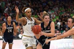 NCAA Women's Basketball FInal Four National Semi-Finals - Notre Dame 81 vs UConn 76 (145)