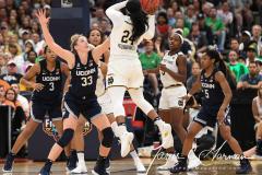 NCAA Women's Basketball FInal Four National Semi-Finals - Notre Dame 81 vs UConn 76 (149)