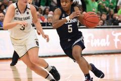NCAA Women's Basketball FInal Four National Semi-Finals - Notre Dame 81 vs UConn 76 (155)