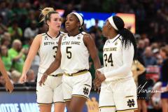 NCAA Women's Basketball FInal Four National Semi-Finals - Notre Dame 81 vs UConn 76 (158)