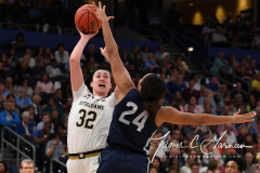 NCAA Women's Basketball FInal Four National Semi-Finals - Notre Dame 81 vs UConn 76 (32)