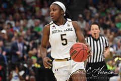 NCAA Women's Basketball FInal Four National Semi-Finals - Notre Dame 81 vs UConn 76 (39)