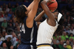 NCAA Women's Basketball FInal Four National Semi-Finals - Notre Dame 81 vs UConn 76 (40)