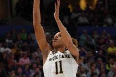 NCAA Women's Basketball FInal Four National Semi-Finals - Notre Dame 81 vs UConn 76 (45)
