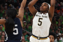 NCAA Women's Basketball FInal Four National Semi-Finals - Notre Dame 81 vs UConn 76 (48)