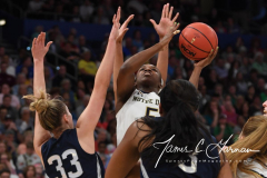 NCAA Women's Basketball FInal Four National Semi-Finals - Notre Dame 81 vs UConn 76 (50)