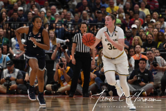 NCAA Women's Basketball FInal Four National Semi-Finals - Notre Dame 81 vs UConn 76 (51)