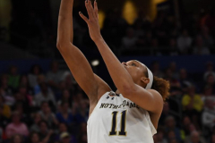 NCAA Women's Basketball FInal Four National Semi-Finals - Notre Dame 81 vs UConn 76 (52)