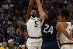 NCAA Women's Basketball FInal Four National Semi-Finals - Notre Dame 81 vs UConn 76 (73)