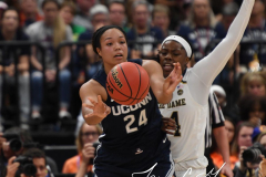 NCAA Women's Basketball FInal Four National Semi-Finals - Notre Dame 81 vs UConn 76 (75)