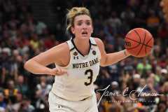 NCAA Women's Basketball FInal Four National Semi-Finals - Notre Dame 81 vs UConn 76 (79)