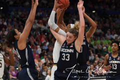 NCAA Women's Basketball FInal Four National Semi-Finals - Notre Dame 81 vs UConn 76 (84)