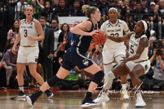 NCAA Women's Basketball FInal Four National Semi-Finals - Notre Dame 81 vs UConn 76 (87)