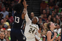 NCAA Women's Basketball FInal Four National Semi-Finals - Notre Dame 81 vs UConn 76 (88)