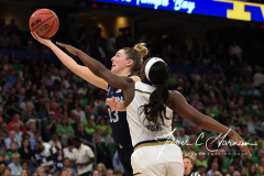 NCAA Women's Basketball FInal Four National Semi-Finals - Notre Dame 81 vs UConn 76 (96)